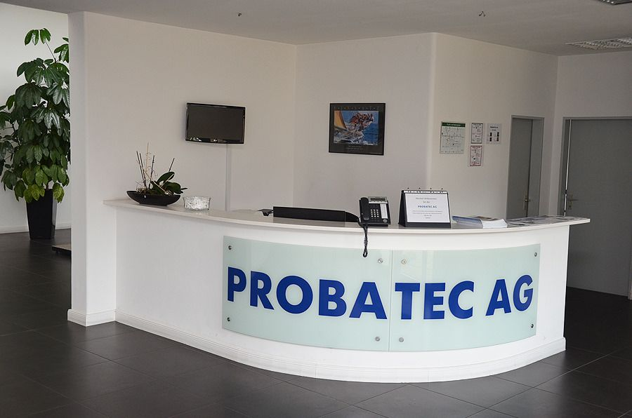 Probatec - Eingangsbereich