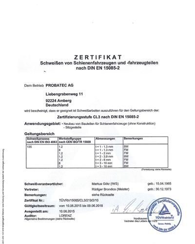 Zertifikat 15085-2_06_2018_Probatec-1